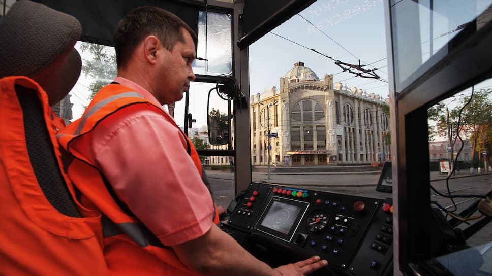 Водитель трамвая