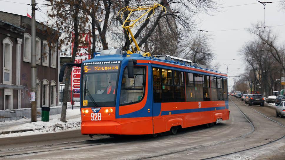 В планах городских властей — дальнейшее развитие трамвайной системы