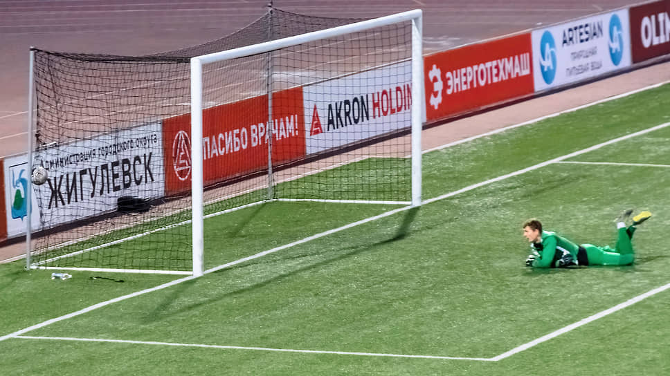 В концовке матча футболистам «Торпедо» удалось вырвать победу