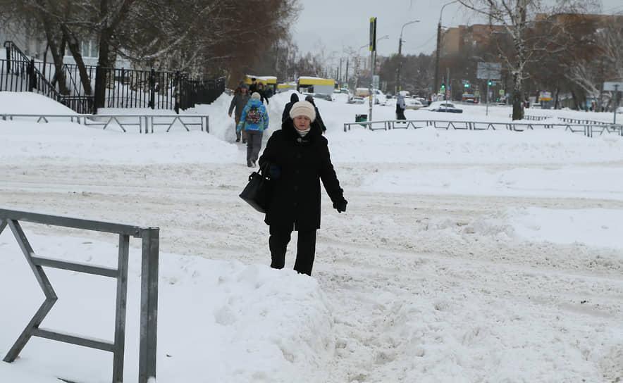 В Самарской области 10 января 2020 года выпало рекордное количество осадков.