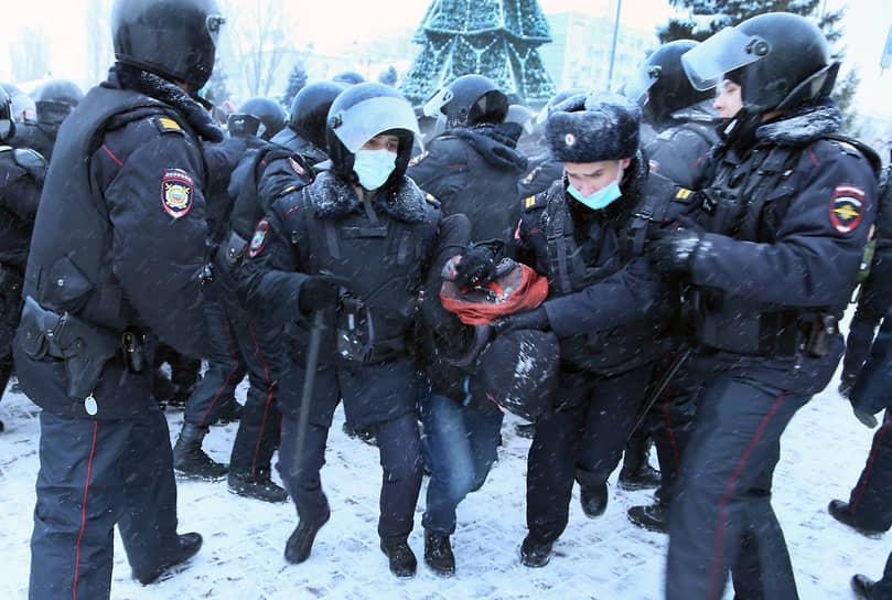 Серьезных столкновений с полицией не было