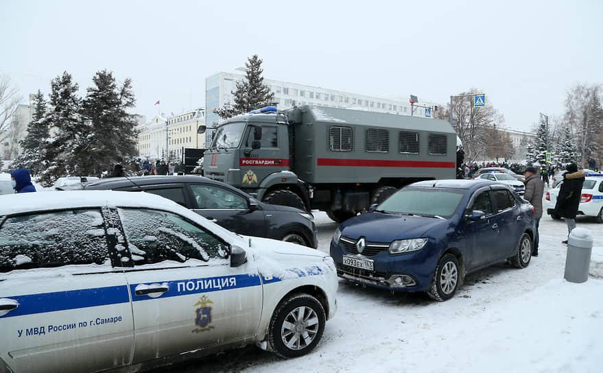 За день до акции исполняющая обязанности координатора самарского штаба Алексея Навального Марина Евдокимова была задержана.