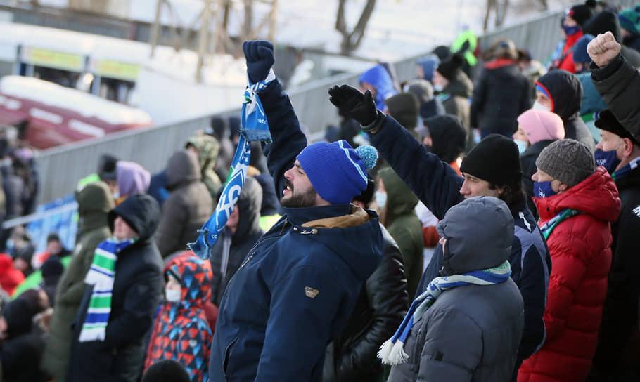 Игру «Крыльев Советов» и «Чертаново», которая прошла на «Металлурге» 6 марта, посетили 3466 зрителей