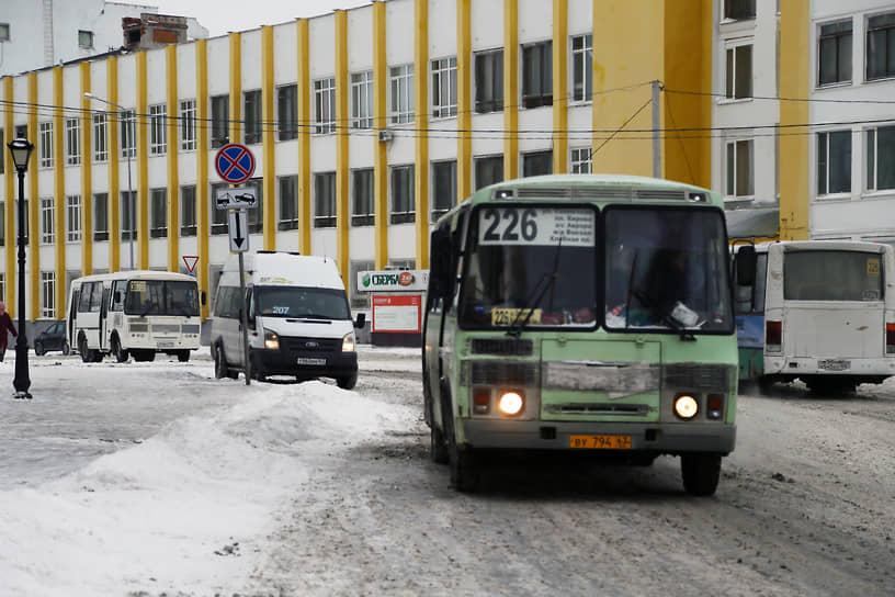 Миллионный город точно не заслуживает такой городской транспорт.