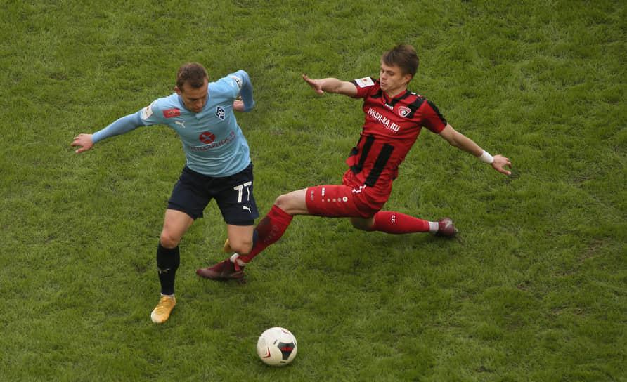 К атаке перешел Дмитрий Кабутов из «Крыльев Советов».