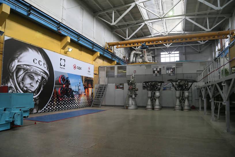 Испытание ракетного двигателя РД-107/РД-108 на горизонтальном стенде в обособленном подразделении «Винтай»