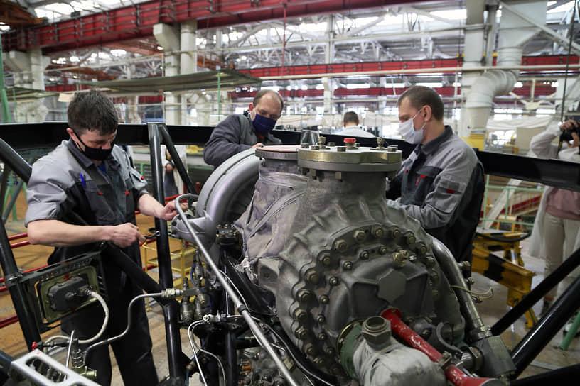 Предприятие включает три ключевых составляющих – конструкторское бюро, завод серийного производства двигателей и уникальную испытательную базу.