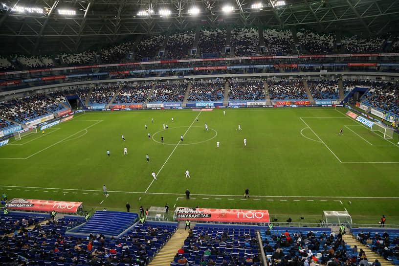 В четвертьфинале турнира самарская команда на своем поле победила столичное «Динамо» со счетом 2:0