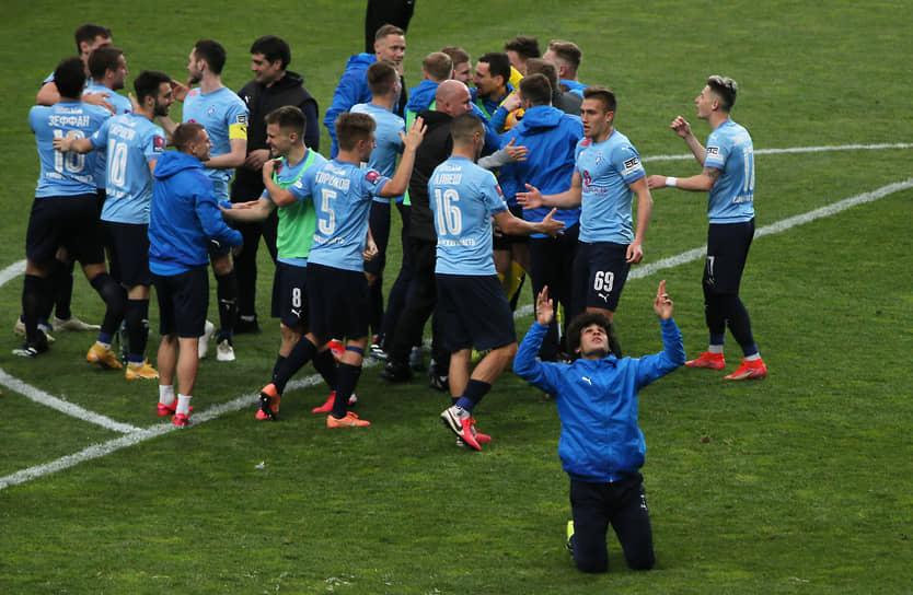 Волжане празднуют выход в финал Кубка России