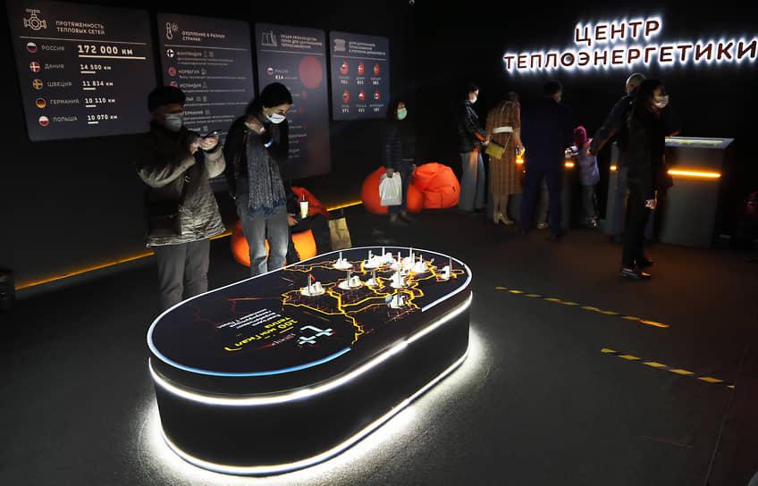 Интерактивный музей ПАО «Т Плюс» расположился возле бассейна ЦСК ВВС