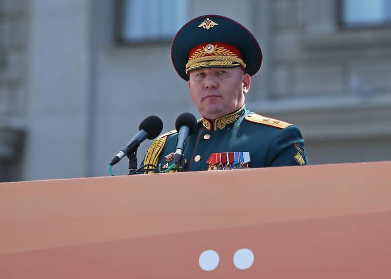 Командующий 2-й гвардейской армии генерал-майор Андрей Колотовкин