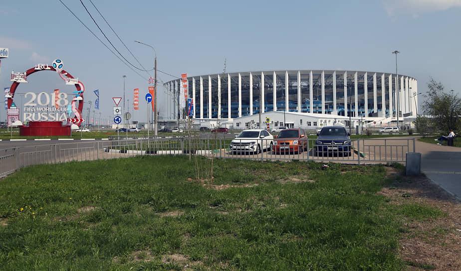Стадион «Нижний Новгород», построенный к ЧМ-2018