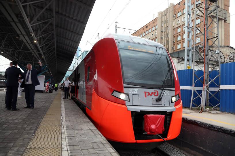 11 июня стартовал первый рейс скоростного поезда по маршруту «Самара – Жигулевское море».