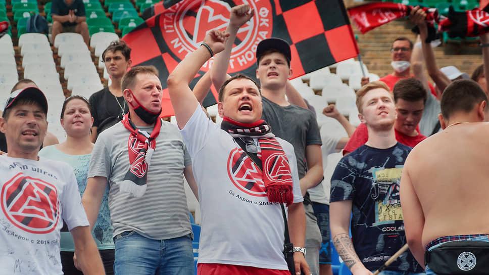 Дебютный матч «Акрона» против «СКА-Хабаровска» посетил 441 болельщик или около 1,5% от вместимости стадиона.