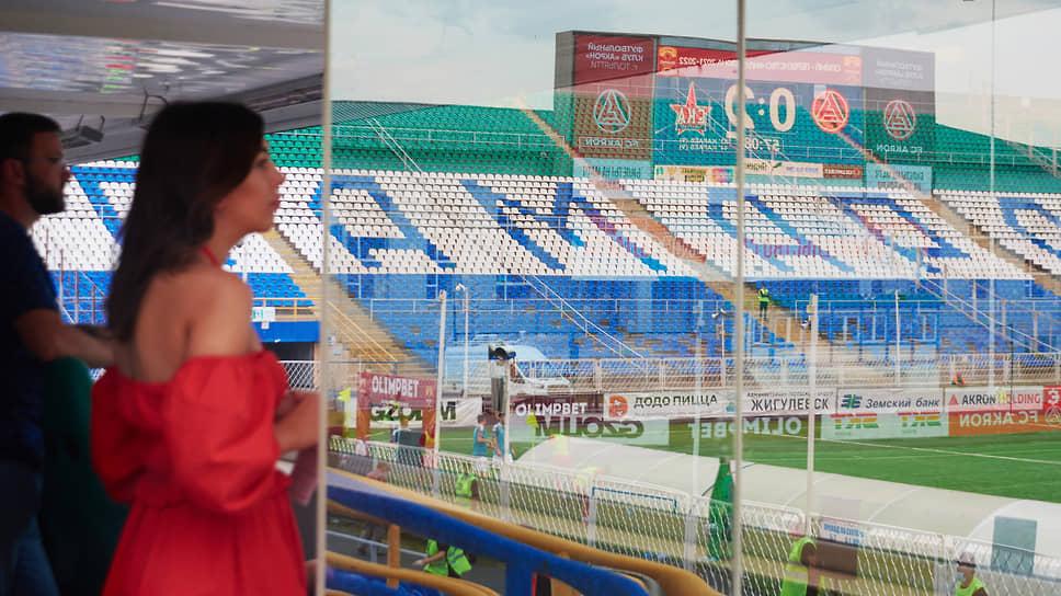 Владелец «Акрона» собирается строить современный стадион в Тольятти.