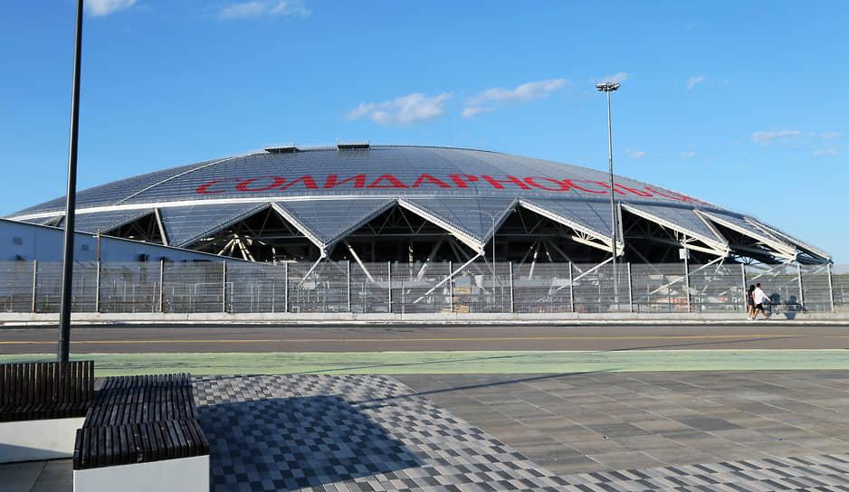 Стадион «Солидарность Самара Арена» перед игрой