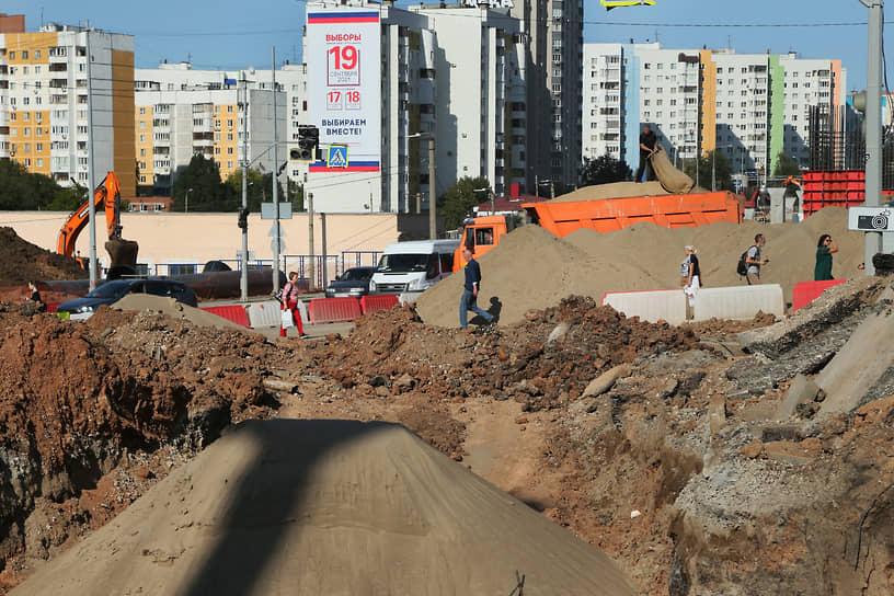 Эстакада соединит основные транспортные потоки из спальных районов в центральную часть города.