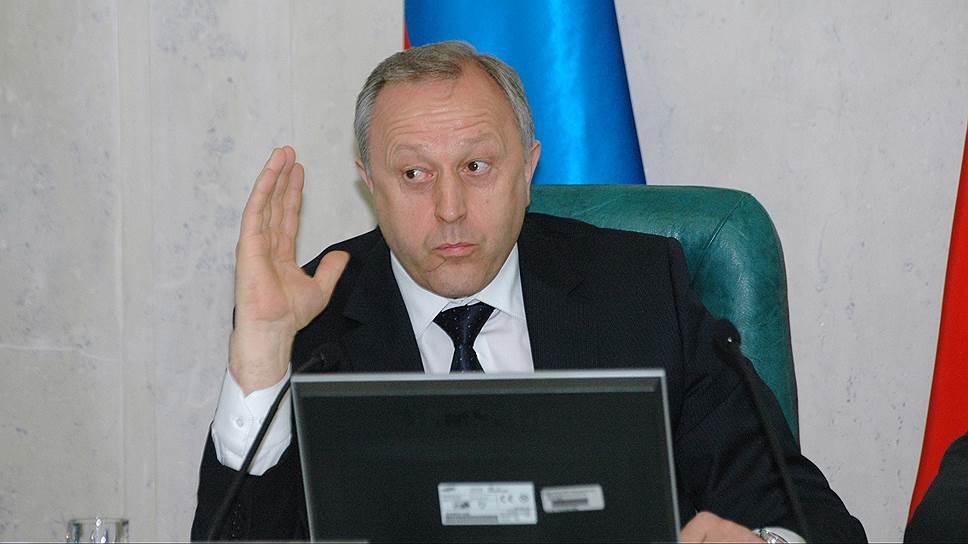 Несмотря на необходимость экономии, Валерий Радаев настаивает на социальном характере предложенного правительством проекта бюджета