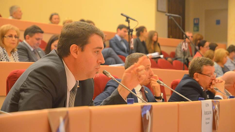 Александр Анидалов готов и дальше поддерживать протестные инициативы в Саратове