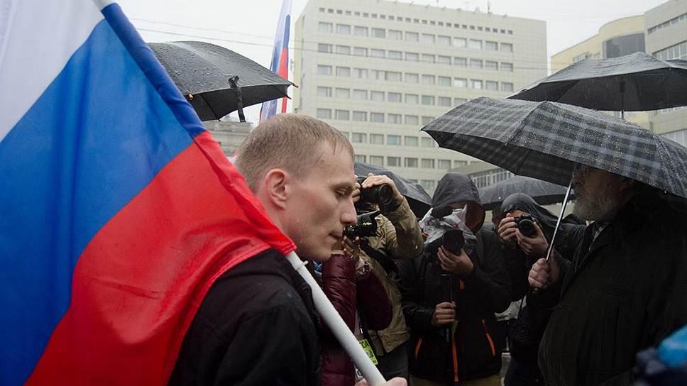 Как был задержан координатор саратовского штаба Навального