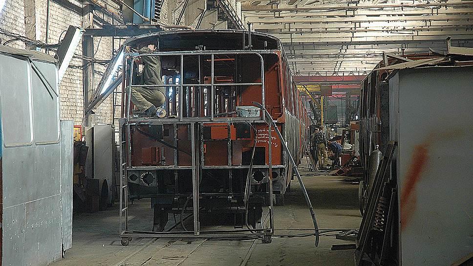 У энгельсского троллейбусного завода продолжаются трудности