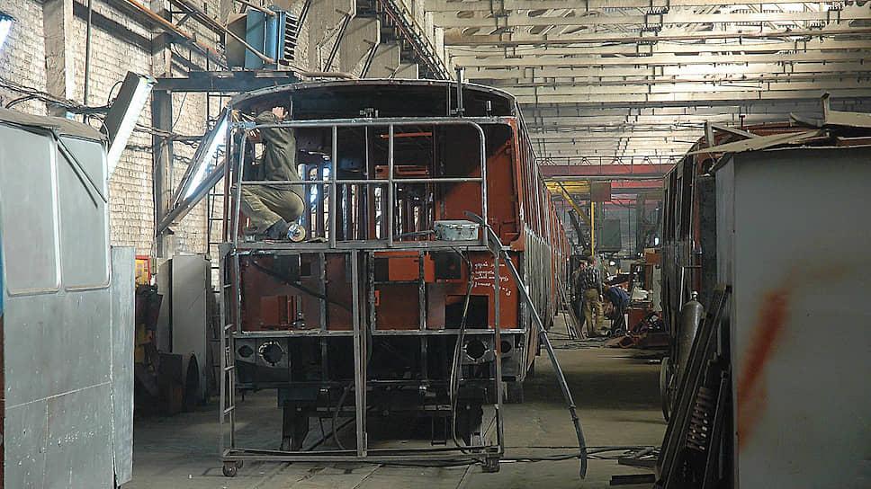 Троллейбусный завод может осуществить первую вэтом году поставку