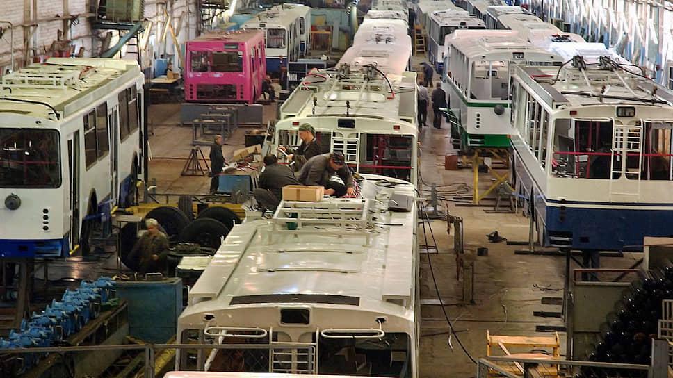 На энгельсском троллейбусном заводе возобновлено производство