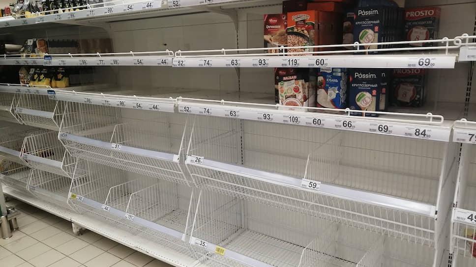 В саратовских магазинах заканчиваются крупы имакароны