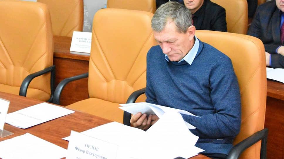 Бывший министр здравоохранения Астраханской области Федор Орлов