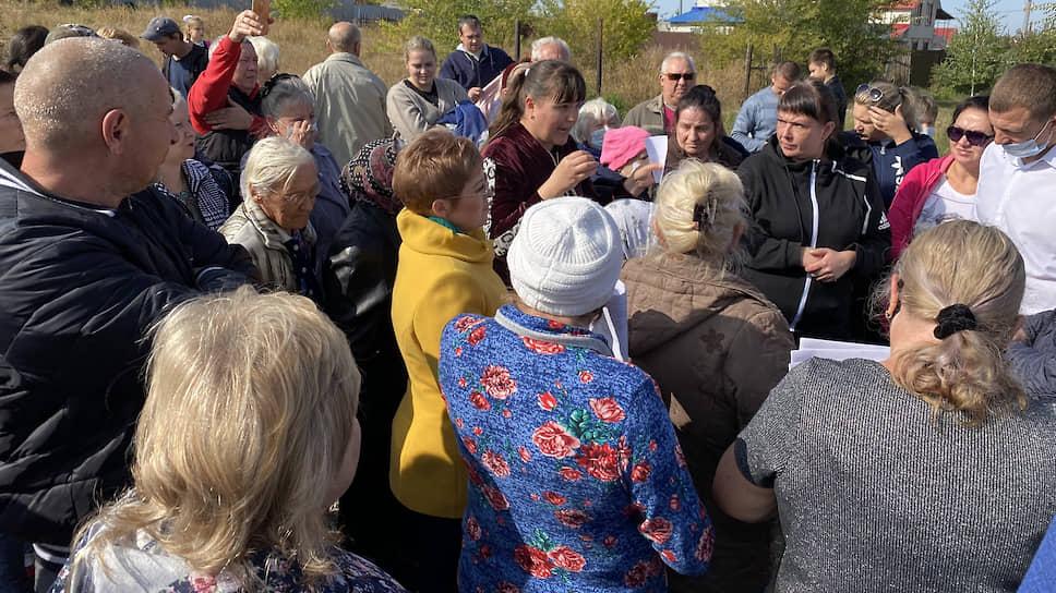 Жители Поливановки просят прокурора проверить действия газовиков