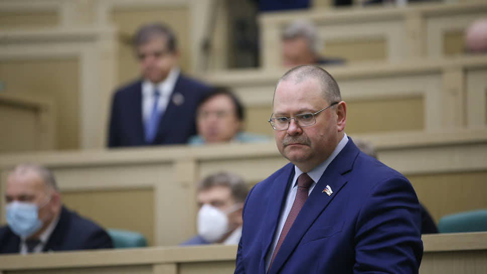 Олег Мельниченко проработал вСовете федерации три споловиной года
