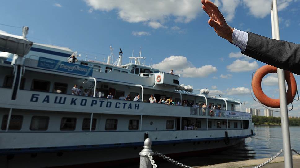 Теплоход «Башкортостан» сдан в аренду Ространстуру