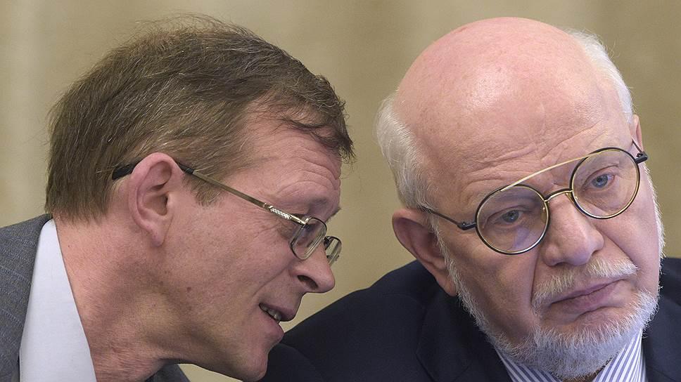 Сибайцы рассчитывают на помощь главы российского отделения «Гринпис» Сергея Цыпленкова (слева) и главы СПЧ Михаила Федотова