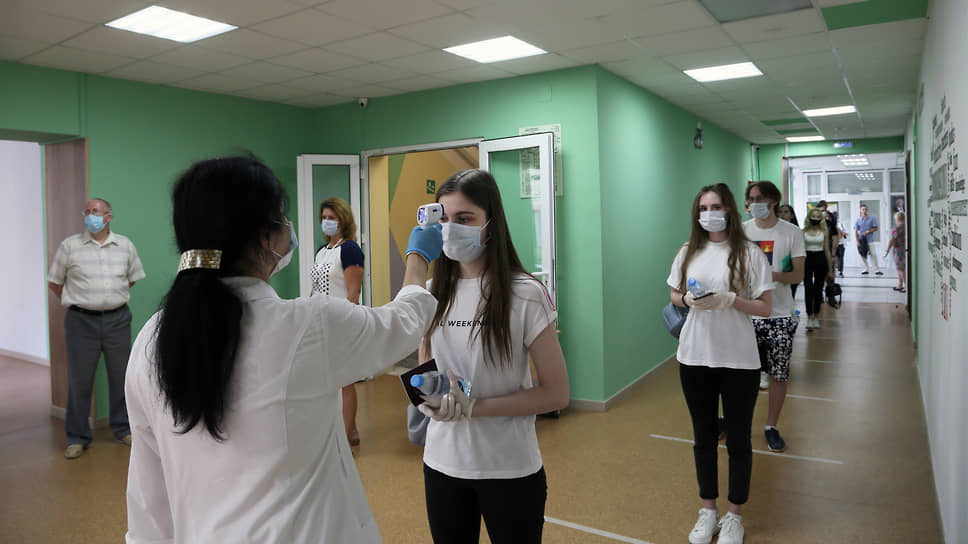 Врачи связывают рост заболеваемости с возобновлением очного обучения в школах и вузах