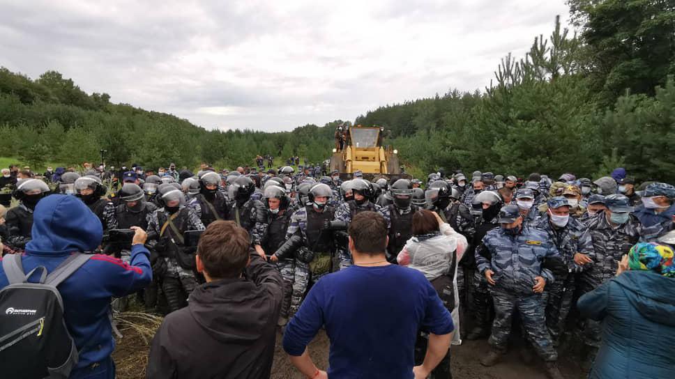 Юристы крепят корни гор / Защитники Куштау добиваются восстановления защитного статуса для леса на шихане