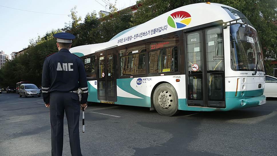 Автобусы угодили в разборку / Проверки транспорта в Хабаровске вызвали дискуссию между перевозчиками и надзорными органами