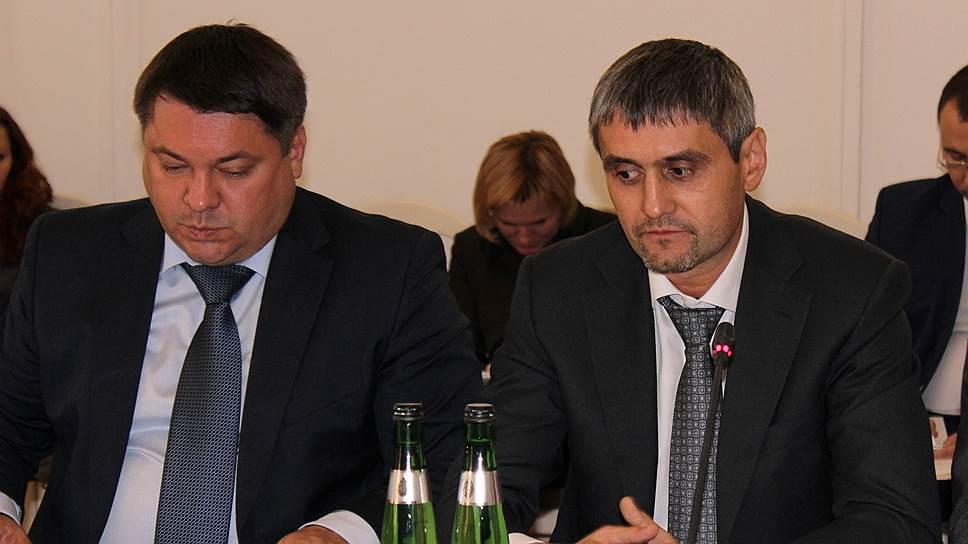 Александр Назаров (слева) иПетр Конюшенко уверены, что закрытие «Химпрома» — печальное, нонеизбежное событие