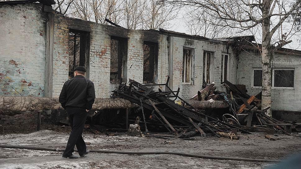 Отставки по горящим следам / В Воронежской области сделали первые выводы из пожара в психоневрологическом интернате