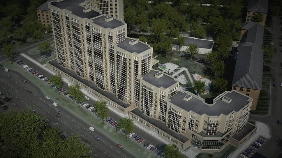 Проект жилкомплекса «Каскад» планируется реализовать на месте ветхого жилья на Левом берегу Воронежа