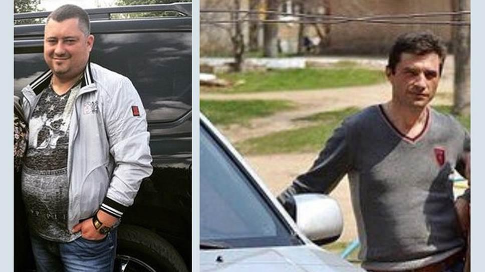 Тамбовский полицейские закончили поиски Виталия Губарева (слева) и Виталия Найденко