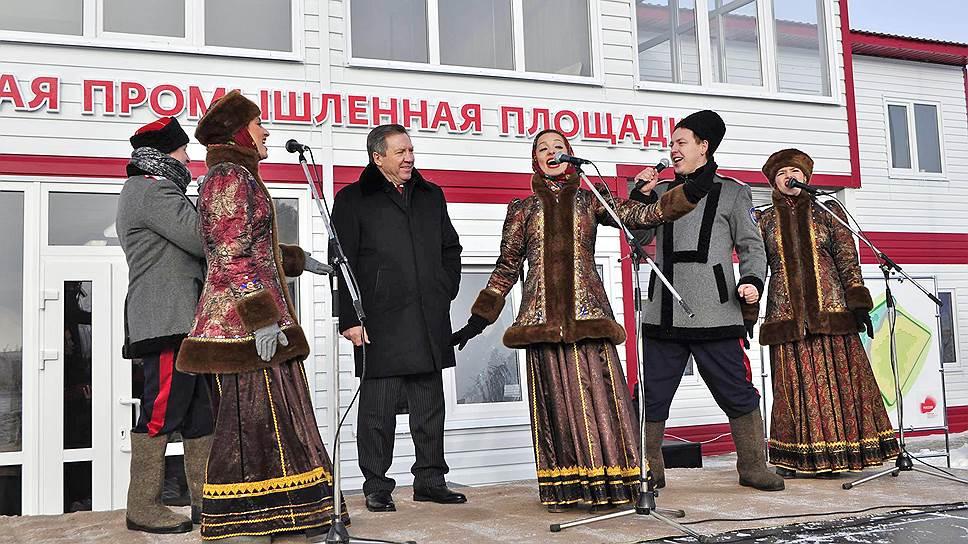Как глава Липецкой области Олег Королев открывал елецкую площадку ОЭЗ «Липецк»