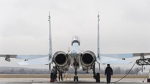 Эскадрилья Су-30СМ Курского авиаполка впервые отработала вывод из-под удара