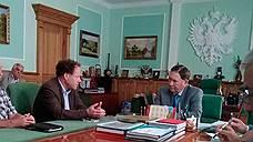 Штефан Дюрр (слева) ждет от Александра Михайлова дополнительных мер господдержки