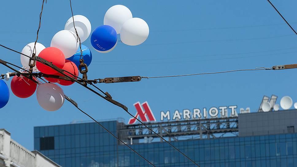 Где планировали построить курский Marriott
