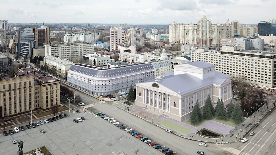 Ремонт балета / Воронежский оперный театр планируют реконструировать за 3 млрд рублей