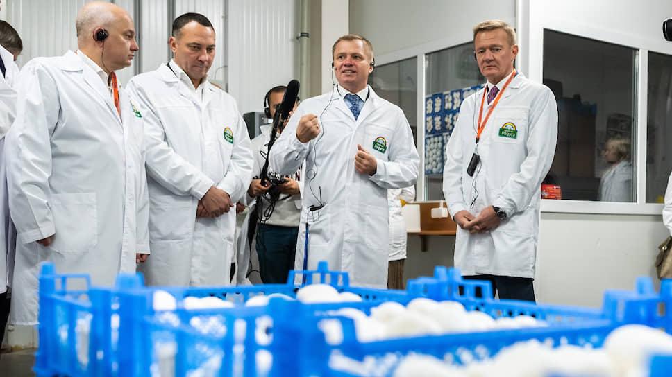 «Каждый гриб оценивает ситуацию» / «Грибная радуга» запустила под Курском третью очередь производства шампиньонов