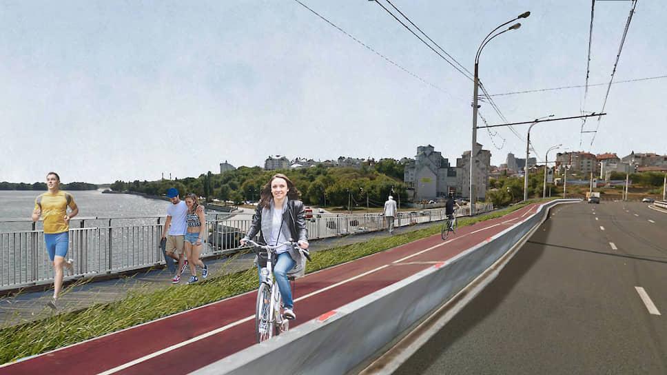 Для активизации пешеходных и транспортных связей с остальной частью города планируется пустить дополнительные автобусные маршруты