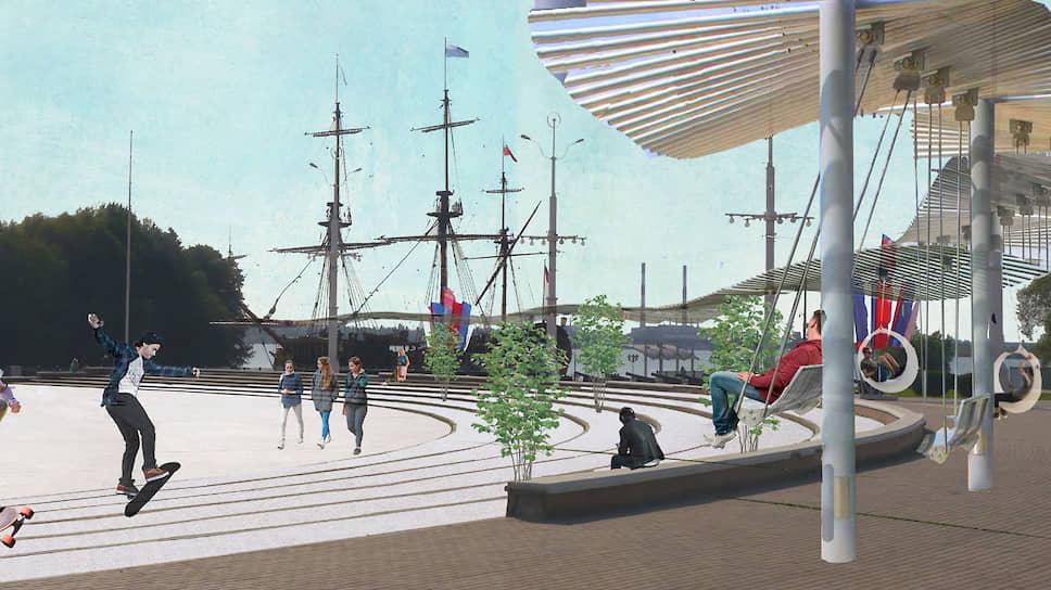 В отношении Адмиралтейской площади анонсированы «косметические преобразования»
