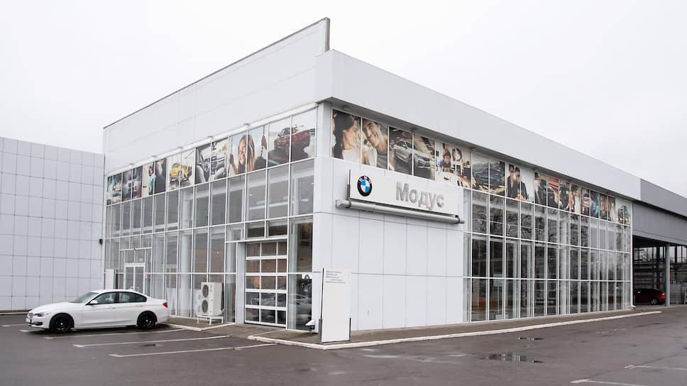 BMW не спешит переезжать из воронежского салона «Модуса»