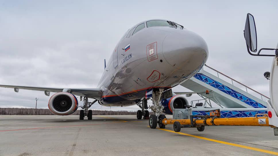 Перспективный базовый перевозчик аэропорта имени Петра Первого планирует рейсы на SSJ
